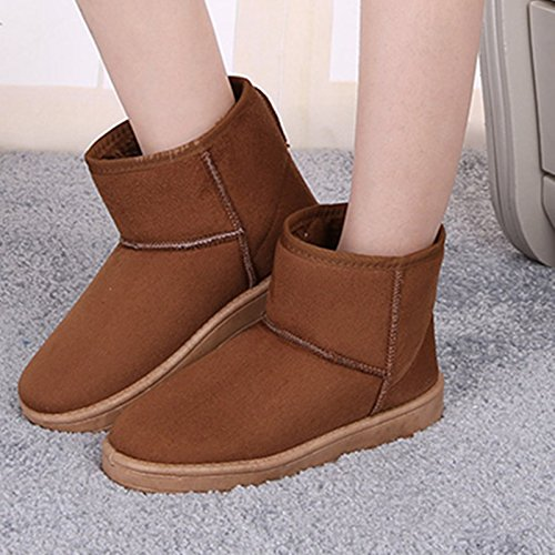 Boots Coffee Warm Warm Women Women Boots SwPqCgq