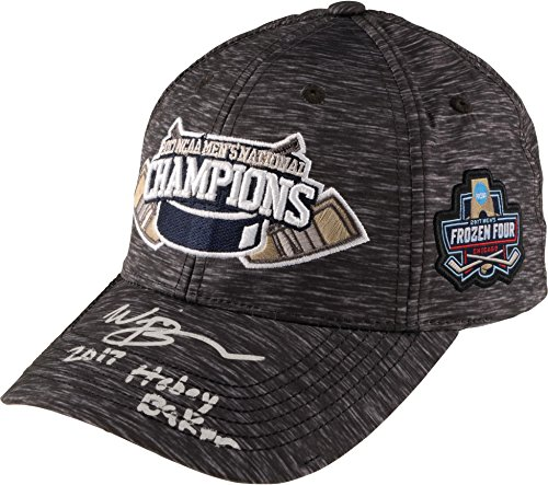 Will Butcher New Jersey Devils Autographed University of Denver 2017 National Champions Cap with 2017 Hobey Baker Inscription - Limited Edition of 8 - Fanatics Authentic Certified