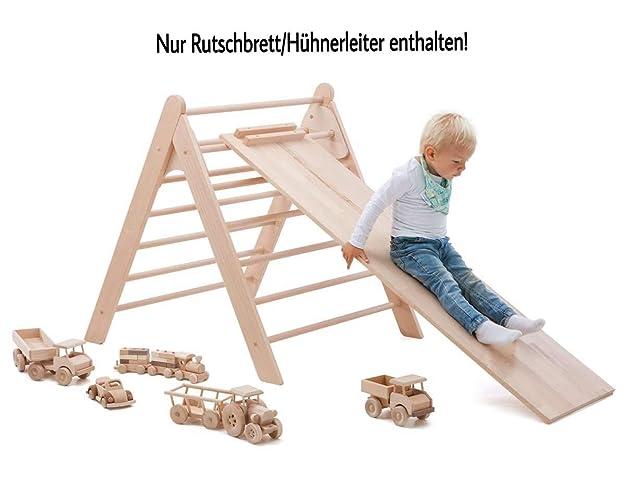 Sprossendreieck - Rutschbrett für Kletterdreieck Pickler
