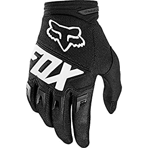 Fox Racing Dirtpaw Race Youth Off-Road Motorcycle Gloves – Black/Medium