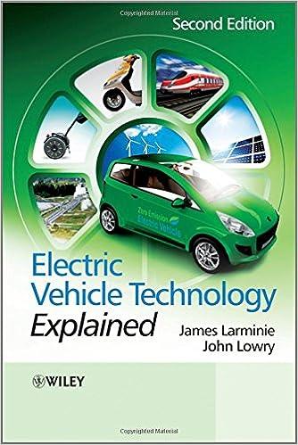 electric vehicle technology explained larminie james lowry john
