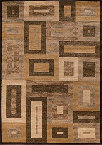 Momeni Rugs Dream Collection, Contemporary Area Rug, 2 x 3 , Brown