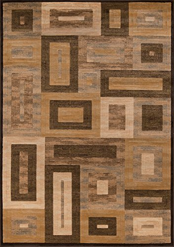 - Momeni Rugs DREAMDR-02BRN3B57 Dream Collection, Contemporary Area Rug, 3'11