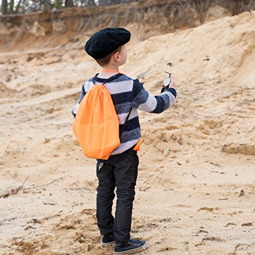 Exploration Kit for Kids – Outdoor Gear Gift Set for STEM Learning & Nature Exploring for Children – Compass, Binoculars,Magnifying Glass, Flashlight Backpack Pack for Toddler Boys & Girls by Trendsettings (Image #3)