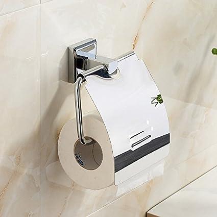 ZHFC European cobre simplificado cubiertos toalla de papel WC el estante de papel papel higiénico caja