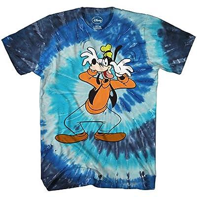 Goofy Washout Tie Dye Disneyland World Retro Classic Vintage Tee Adult Mens Graphic T-Shirt Apparel