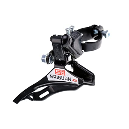 Bicycle Front Derailleur 31.8mm Clamp BottomPull Mountain Road Bike MTB