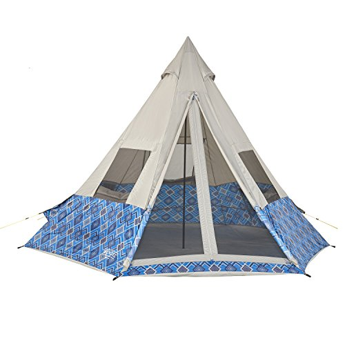 Wenzel Shenanigan 5 Person Tent, Blue