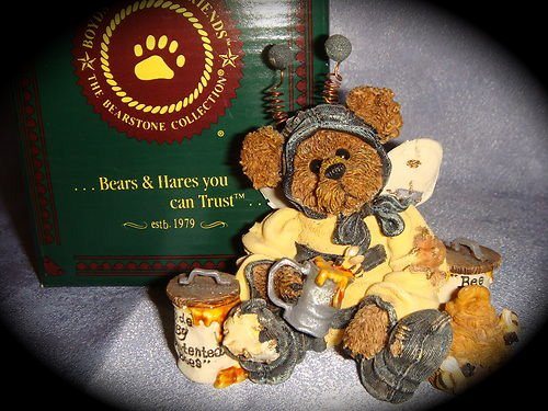 Boyds Bears BUMBLE B. BEE...SWEETER THAN HONEY