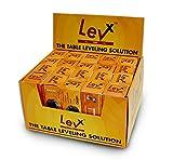 Carpin LEVx Self-Adjusting Table Glide 1/4-20, Display Box, 20 Packs of 4 Glides