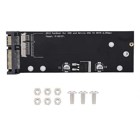Kafuty Tarjeta de conversión de Adaptador SSD a SATA para MacBook ...