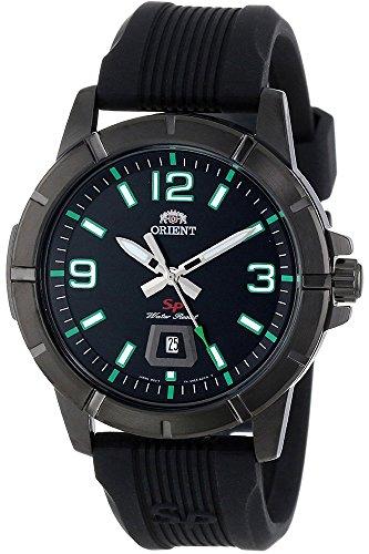 Orient Reloj Analógico para Hombre de Cuarzo con Correa en Caucho FUNE9008B0: Amazon.es: Relojes