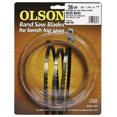 Olson Saw FB19293DB 3/8 by 0.025 by 93-1/2-Inch HEFB Band 4 TPI Skip Saw Blade by Blackstone Industries, LLC