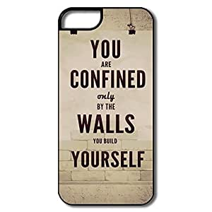 IPhone 5/5s Cases Sayings Design Hard Back Cover Cases Desgined By RRG2G