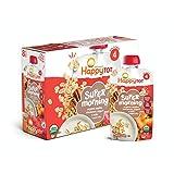 Happy Tot Organic Stage 4 Super Morning, Apple Cinnamon, Yogurt, Oats + Super Chia, 4 Ounce (Pack of 8)