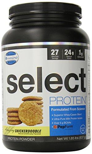 Sélectionnez des protéines (Snickerdoodle) 27 portions de 837 g (1,85 lbs)