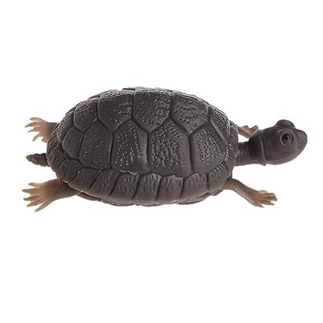 Kofun Guirnalda de Tortugas Artificiales para decoración de Acuario con diseño de Tortugas para peceras