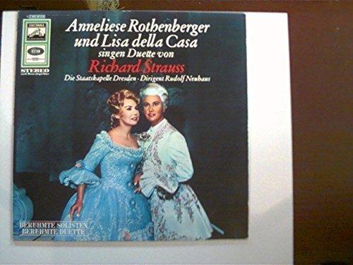 singen Duette von Richard Strauss; Die Staatskapelle Dresden, Dirigent Rudolf Neuhaus;