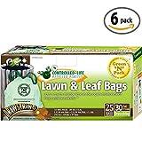 Green N Pack 30 Gallon Drawstring Large Trash Bags