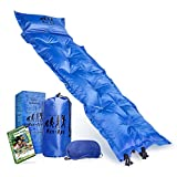 Man-Ape Ultralight Camping Self-Inflating Sleeping Pad W/Built-In Pillow and BONUS: Ebook and Sleep Mask, Great for Family Camping Hiking Backpacking and Outdoor Activities, Waterproof Warm Compact