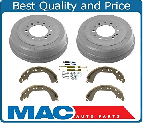 Rear Brake Drums & Shoes Springs fits Toyota 4 Runner Pick Up 4x4 295MM