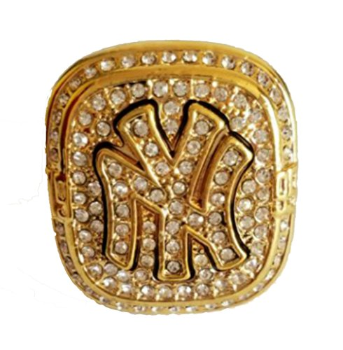 YIYICOOL NY 1999 Yankees Championship Ring size 10 With carton