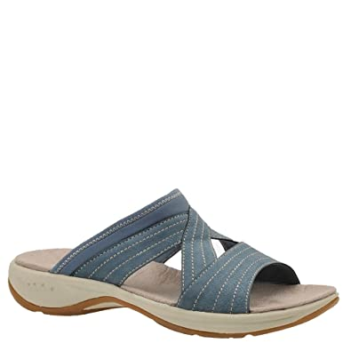 5ed8f99c7787 Image Unavailable. Image not available for. Color  Easy Spirit Womens  Emorie Open Toe Casual Slide Sandals ...