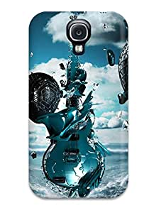 Galaxy S4 Case Cover With Shock Absorbent Protective CGwWJrd7363IYcUq Case
