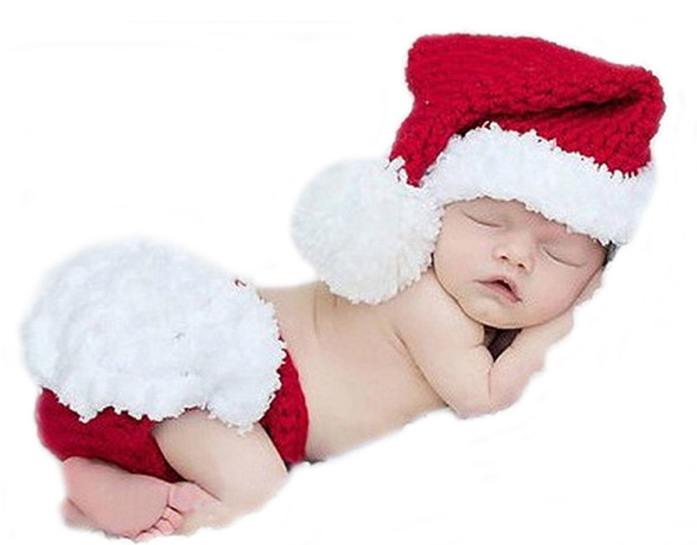 Baby Häkelkostüm Strick Weihnachtskostüm Fotoshooting Baby Fotos Weihnachten No Name