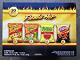 Frito-Lay Flamin Hot Mix 30 Bags includes Cheetos Crunchy,Cheetos Limon Crunchy,Funyuns Onion,Fritos