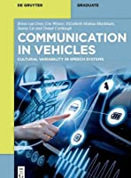 Communication in Vehicles: Cultural Variability in Speech Systems
