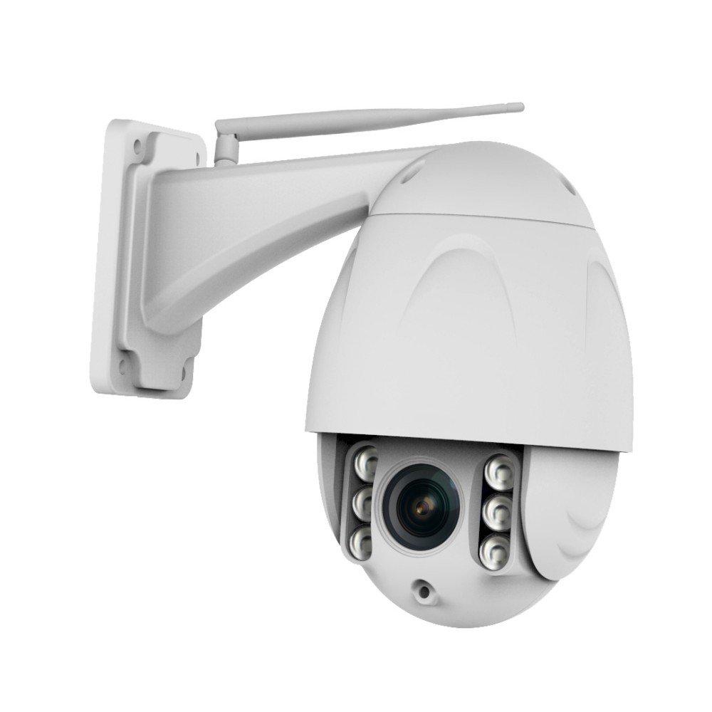 iFormosa Wi-Fi IP フルHD Camera 200万画素 1080p 室外防水 有線 無線LAN 夜間対応 ドーム型 光学4倍ズーム 防犯カメラ ネットワークカメラ IF-C34SX4 B079G27BGH 高機能4倍光学ズーム1080p 高機能4倍光学ズーム1080p