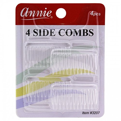 4 basic side comb brown hold hair woman girl hair accessories