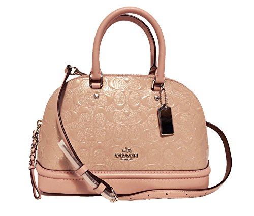 Inclined Mini Women��s Blush Satchel Coach Purse Shoulder Sierra Handbag Shoulder wpEWnXnCq
