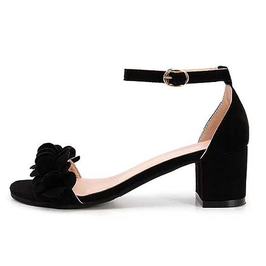 6b2d976f13114 Amazon.com: Hunzed Women Sandals, Fashion { Block Shoes } { High ...