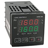 Dwyer Love Series 16B 1/16 DIN Temperature and Process Controller, Relay Outputs 1 and 2 by Dwyer