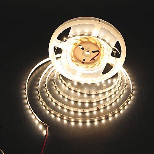 Le 12v Flexible Led Strip Lights 3000k Warm White 300: LEDMY IP20 Flexible DC 12V 3000K 300 LED Strip Lights