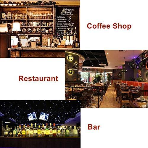 Targa in metallo stile vintage ideale come decorazione per bar ristoranti e pub 20 x 30 cm sottile da parete Sycle Circle caffetterie serie Garage Garage.