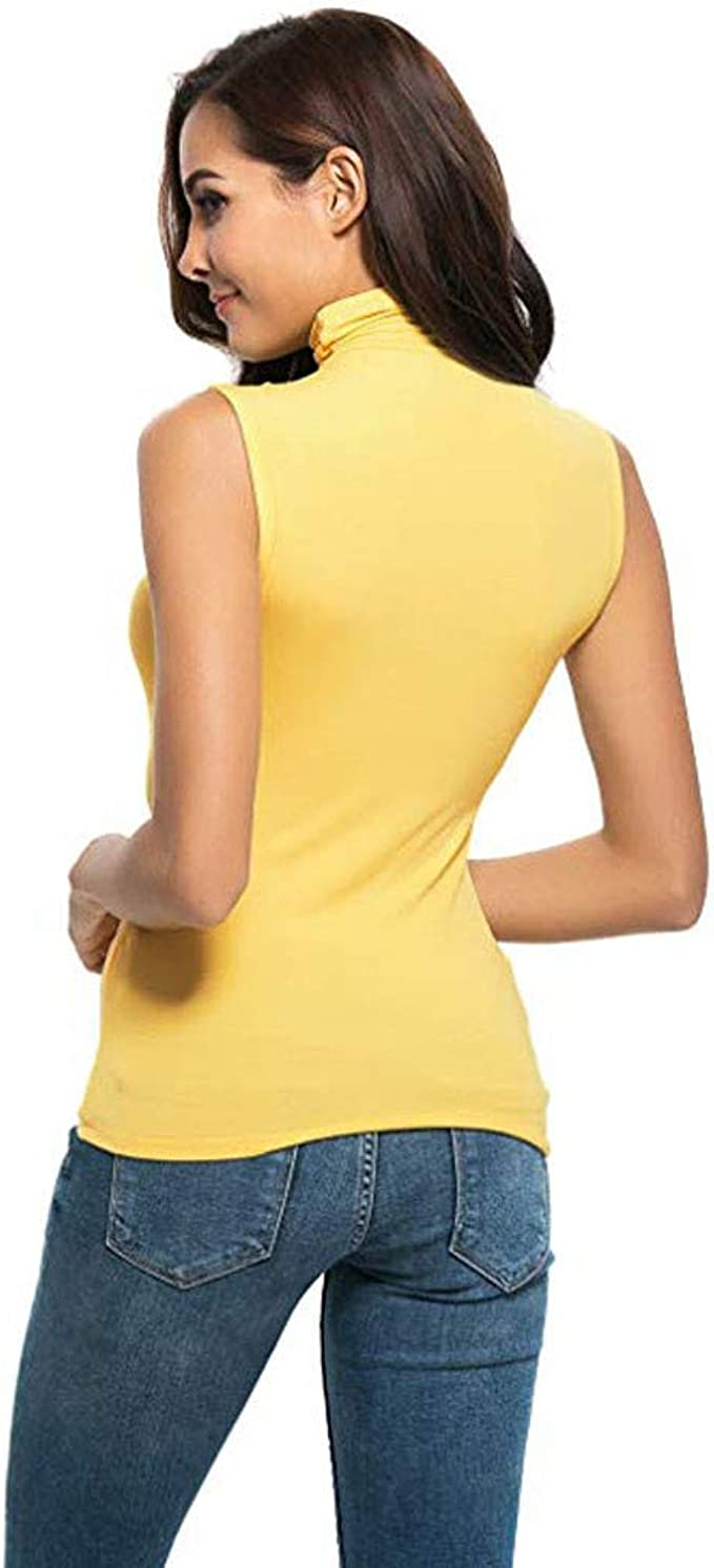 MERICAL Camisa Blusa Superior para Mujer sin Mangas sólido ...