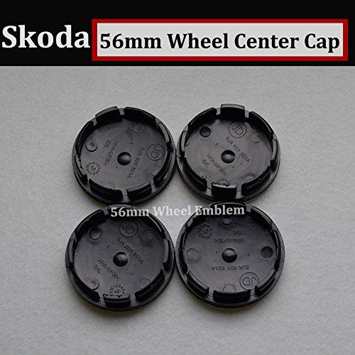 Amazon.com: Hanway green 56mm skoda Car Wheel Emblem Cap Auto Wheel Center Cover Logo Label For Skoda Octavia/Superb/Fabia/Roomster/Yeti: Automotive