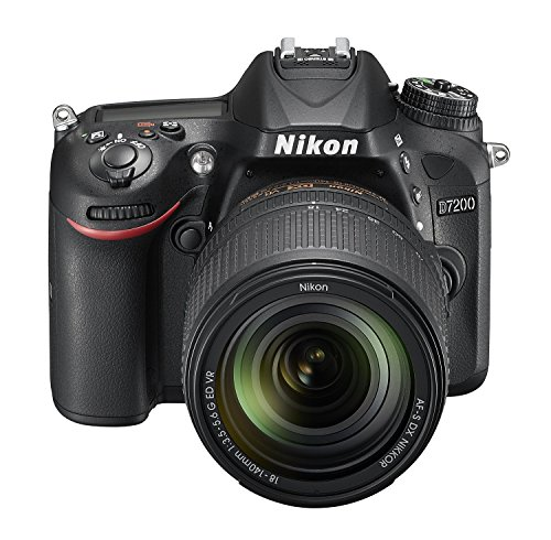 Nikon D7200 24.2 MP Digital SLR Camera (Black) with AF-S 18-140mm VR Kit Lens and 16GB Card, Camera Bag 4