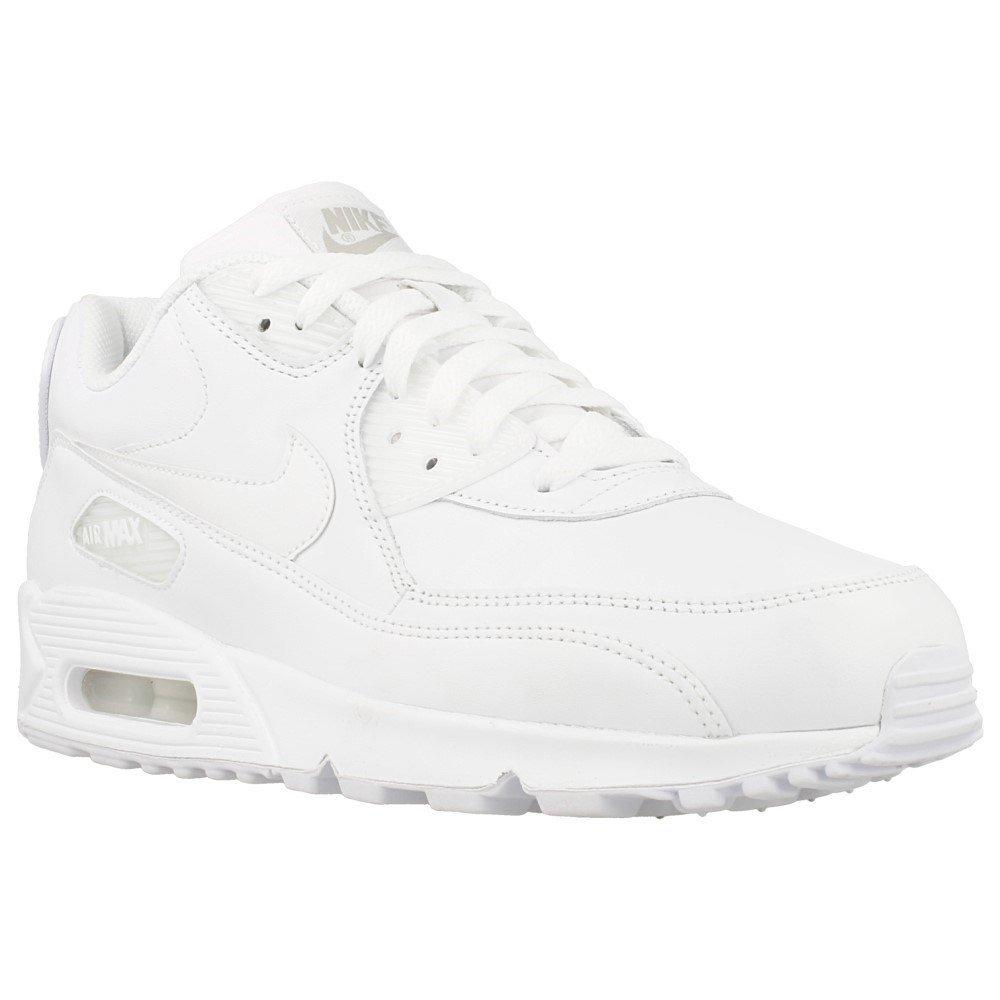 new product 993f8 bf44e Nike Air Max 90 Triple White Size 9 UK: Amazon.co.uk: Shoes ...