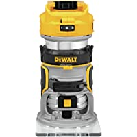 Dewalt DCW600B 20V MAX XR Lithium-Ion Cordless Brushless Router (Tool Only) + Dewalt Battery