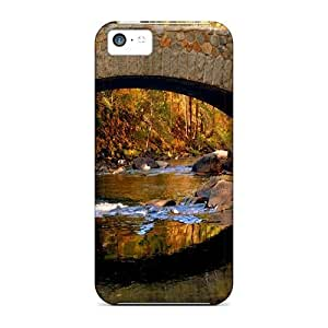 Awesome Cases Covers/iphone 5c Defender Cases Covers(stone Bridge In Autumn)