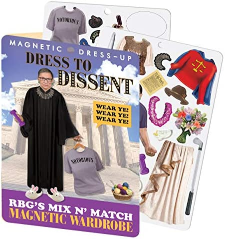 The Unemployed Philosophers Guild RBG Dress to Dissent – Ruth ...