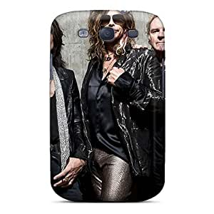 Samsung Galaxy S3 AlP7286MkTo Support Personal Customs High Resolution Aerosmith Band Pattern Scratch Resistant Hard Phone Cover -TimeaJoyce