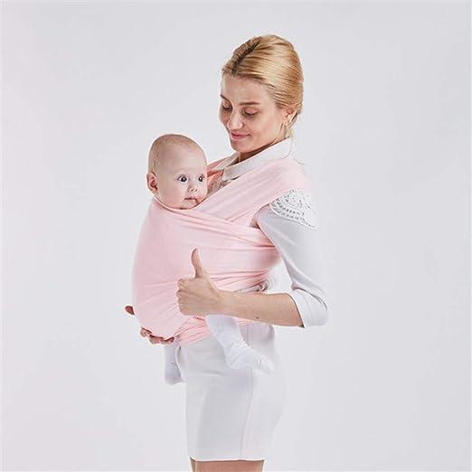 GYLJJ Envoltura Porta bebé, Suave y Transpirable Manos Libres del ...