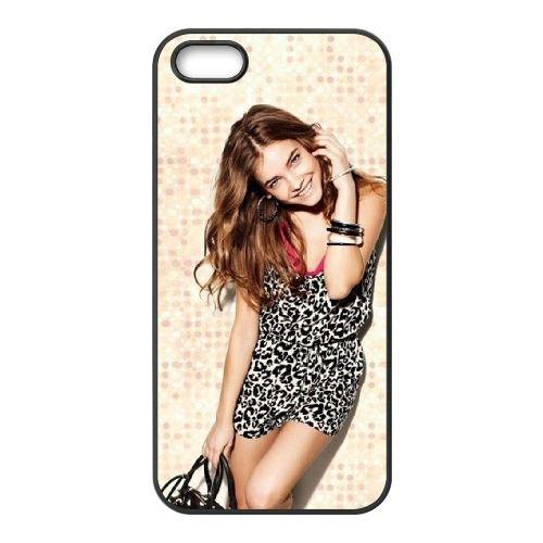 Barbara Palvin 28 coque iPhone 4 4S cellulaire cas coque de téléphone cas téléphone cellulaire noir couvercle EEEXLKNBC23327