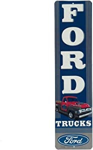 Open Road Brands Ford Truck Vertical Embossed Metal Sign