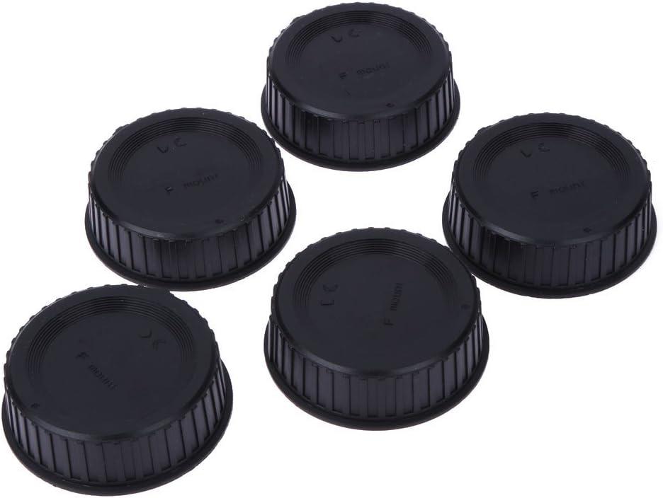 5pcs Rear Lens Cap Cover for All Nikon AF AF-S DSLR Cameras LF-4 Lens